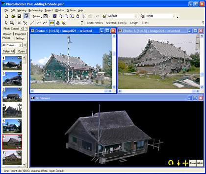PhotoModeler v6.2.2.596لتحويل الصور العادية الى 3D 102