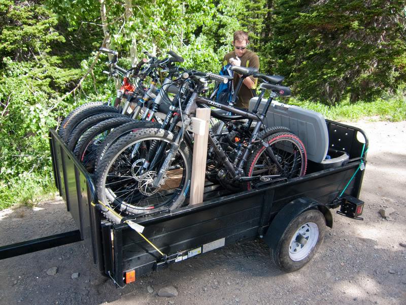 Ajuda - Vou modificar um atrelado só para levar as bikes Trailer