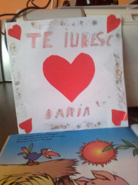 Valentine's day- Sa  invatam copiii despre iubire! Fotografie0683