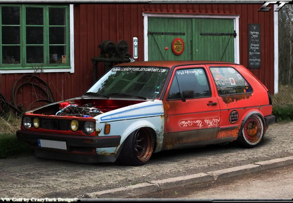 The sick car thread! VW_Golf_hoodride_by_CrazyTurk