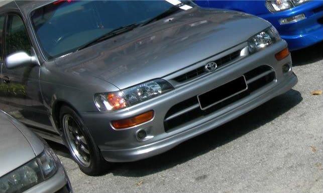 fx-gt front lip Toyotacorollab-ztouring
