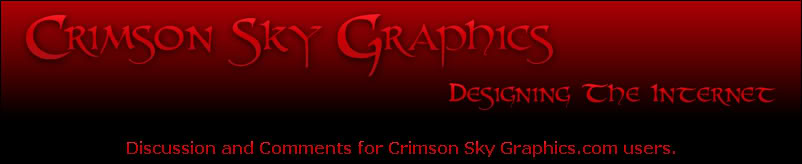 The Crimson Sky Graphics Forum