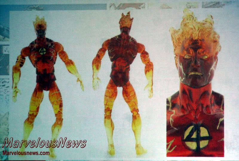 Marvel UNIVERSE : figurines marvel au 1/18è 184