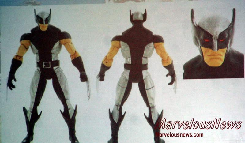 Marvel UNIVERSE : figurines marvel au 1/18è 187