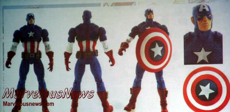 Marvel UNIVERSE : figurines marvel au 1/18è 189