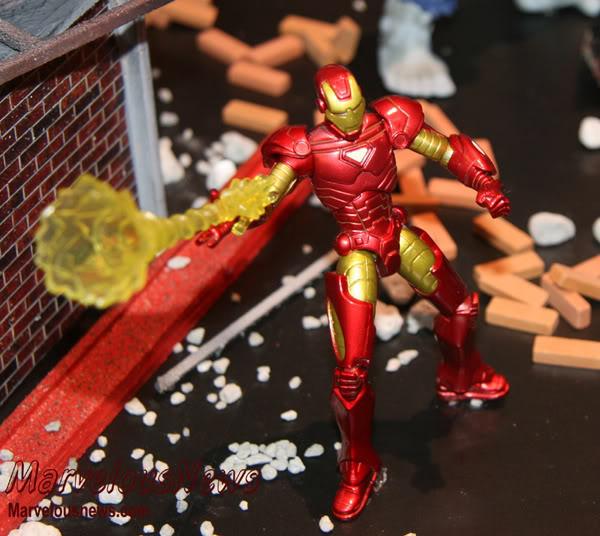Marvel UNIVERSE : figurines marvel au 1/18è IM