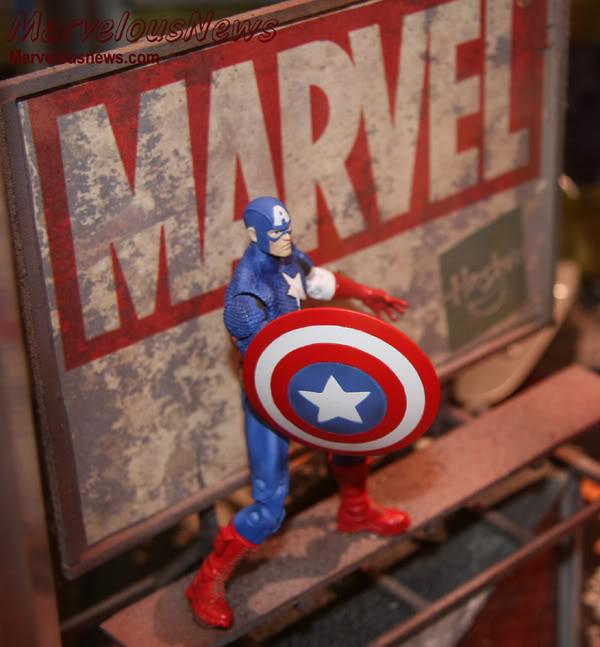 Marvel UNIVERSE : figurines marvel au 1/18è Cap