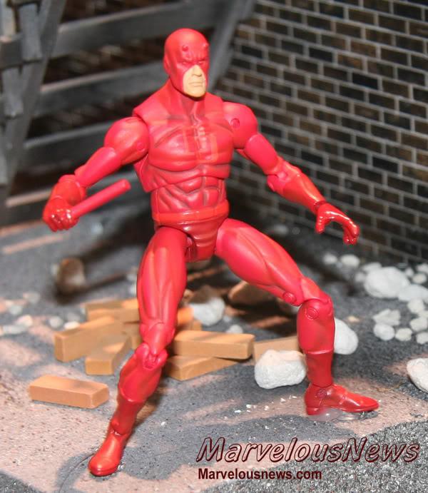 Marvel UNIVERSE : figurines marvel au 1/18è Dd