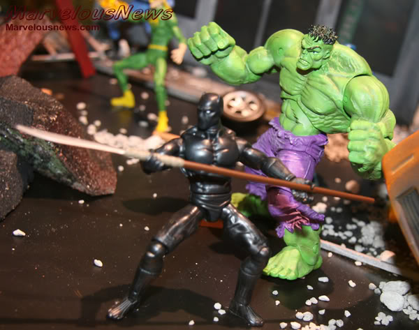 Marvel UNIVERSE : figurines marvel au 1/18è Ph