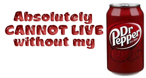 My cans  Mydrpepper