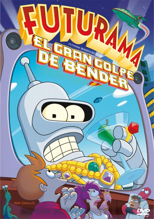 El Gran Golpe de Bender (Latino) Bender-Caratula