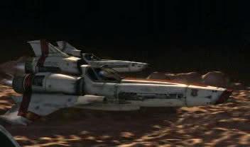 F-302 vs. Viper Mk. II Battlestar_Galactica_-_Viper_Mark_I