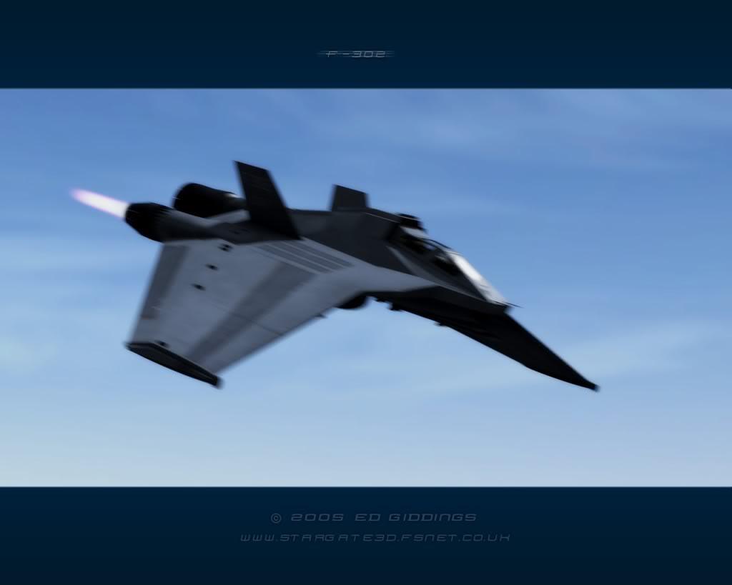 F-302 vs. Viper Mk. II F302-flyby