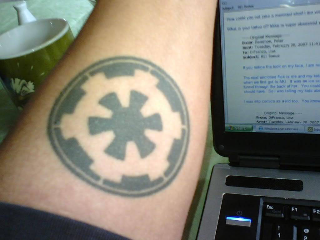 Pages from our nerdy past... TATTOO