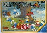 Les puzzles 80's de D.A, séries ou de  gamme de jouets.... - Page 2 Th_Schtroumpfs04