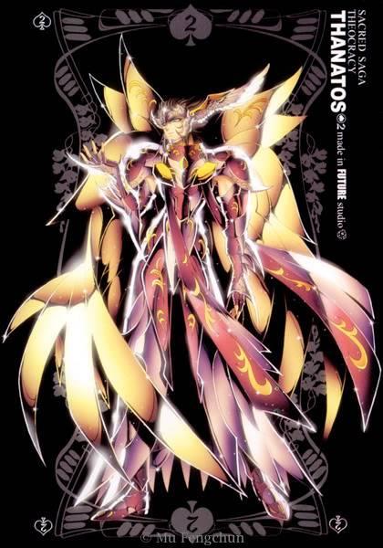 [Bàn Luận] Thần thoại Hy Lạp manga hoá ! [Hình die] Theocracy-Thanatos
