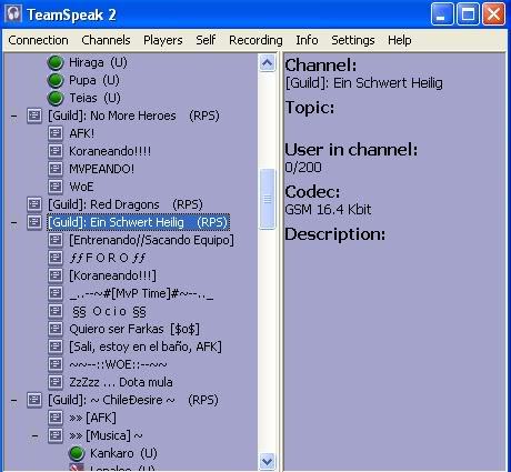 Guia rápida de como instalar y usar Team Speak (TS) 555555