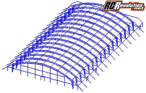 Construction d'un complexe de 12000m² dédié aux Rc en Italie IBR-Padova1