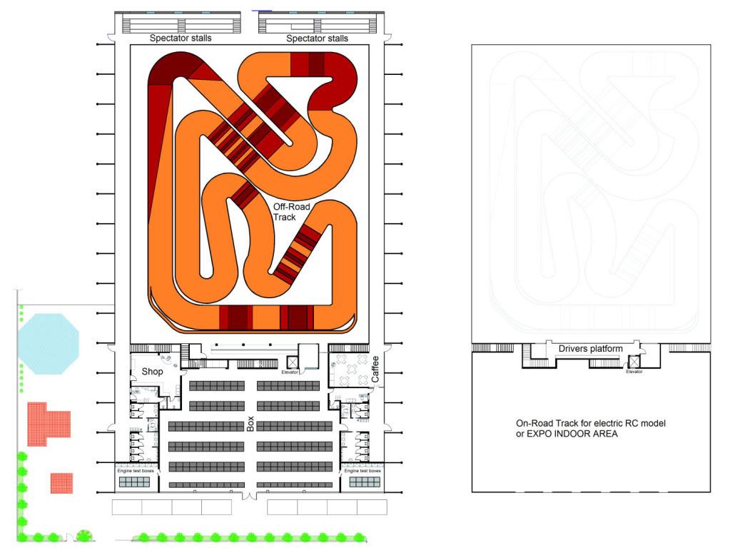 Construction d'un complexe de 12000m² dédié aux Rc en Italie Padovaplan
