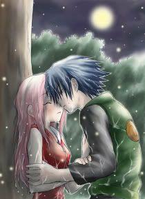 i don't know that this new feeling is Sakura-and-sasuke-96429