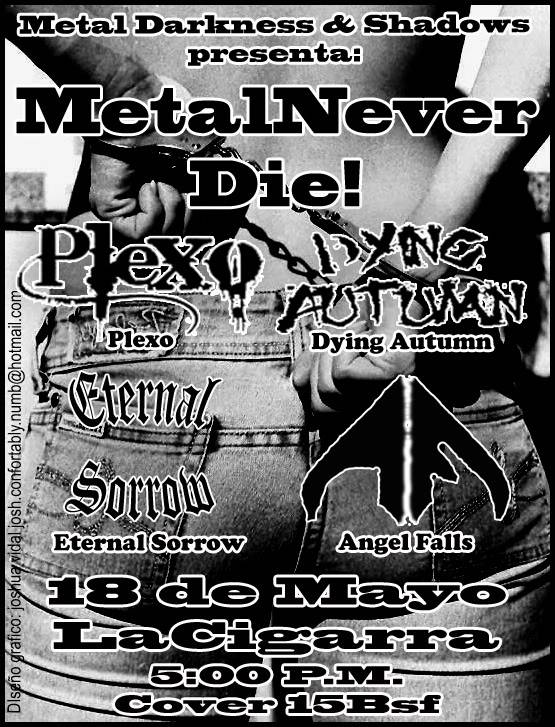 Metal Never Die! 18-05-2008 Fliyermayo18