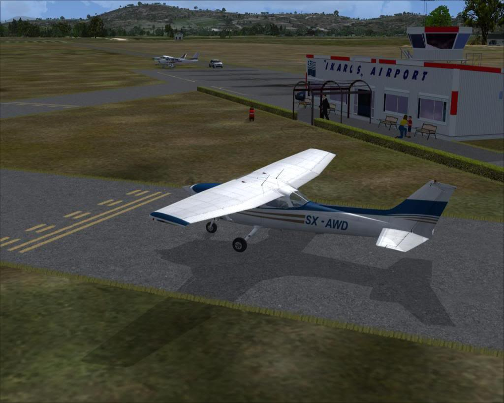 IKAROS airport VisitingSX-AWDofAthensAeroclub-1