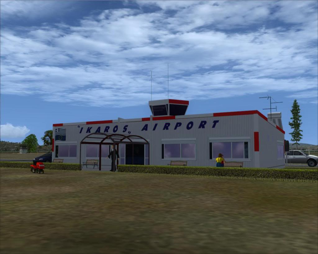 IKAROS airport Terminal1-1
