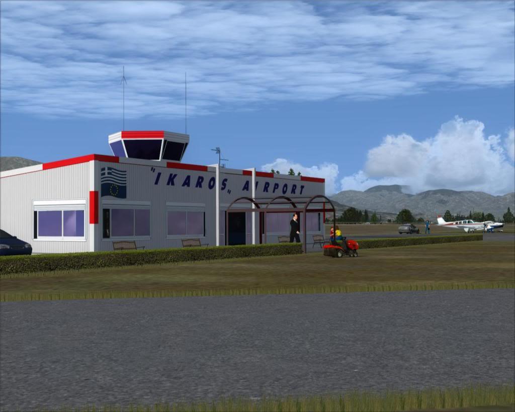IKAROS airport Terminal3