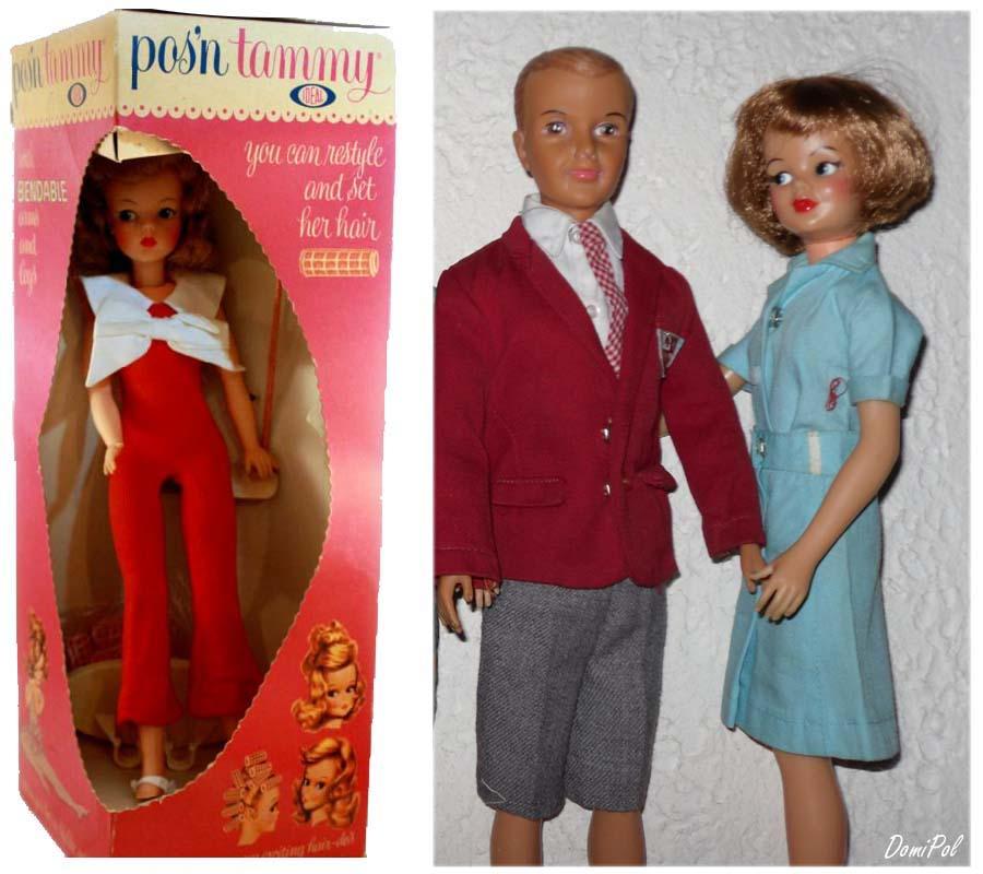 Tammy family d'Idéal toys_USA TammyFamillyTedTAMMY