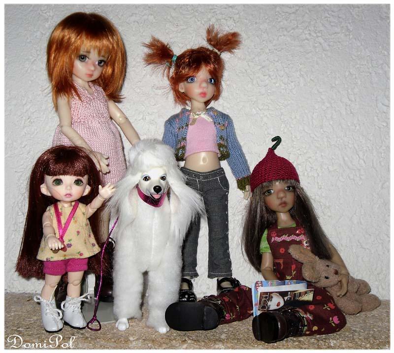 Millie, Cinnamon, Tillie, Lillie, Sage et Nutmeg, de DomiPol  - Page 3 BonnieMillieCinnyhumainCinnyelf