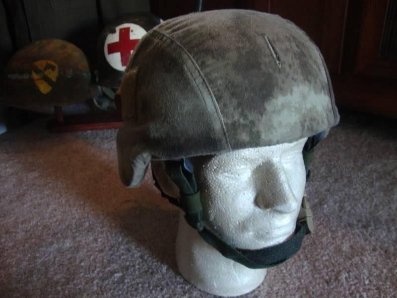 A-Tacs helmet cover. Just because I can.. 9e604721