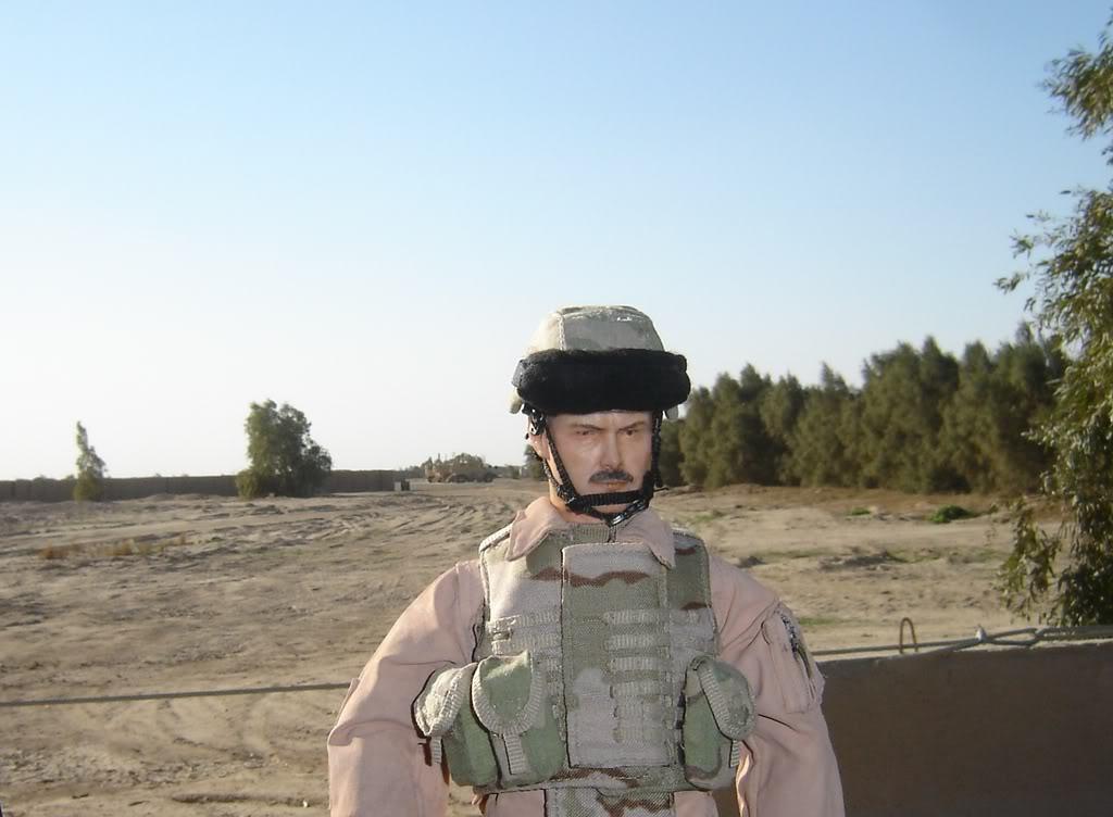 Desert Storm & OIF 1:6 scale mandollies Iraqbkgrnd