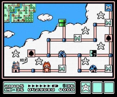 """Mario and his Content"" traduit en Français. MaelstromMario_16"