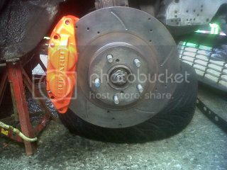 Brake calliper colour change 0055