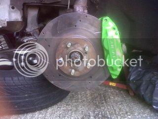Brake calliper colour change 0064