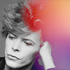 David Bowie icons. Bowiehairrainbow