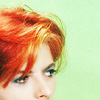 David Bowie icons. Bowieredhair
