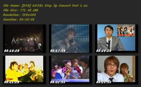 [DVD] SS501 STEP UP CONCERT Dvdstepupconcert