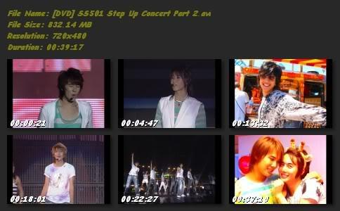 [DVD] SS501 STEP UP CONCERT Dvdstepupconcertpart2