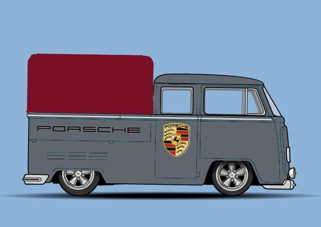 Buster Bo Jangles '67 Crew Cab CrewcabPORSCHEcopy