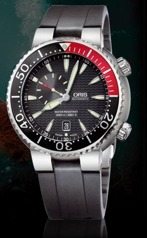 Oris Carlos Coste 2000m. edición limitada Diver1