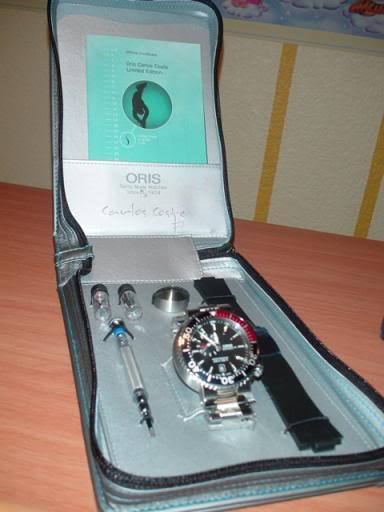 Oris Carlos Coste 2000m. edición limitada Image6432
