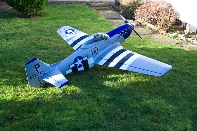Skyleaders 1/5 Scale Mustang Build Must1