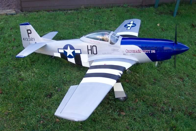 Skyleaders 1/5 Scale Mustang Build Must6