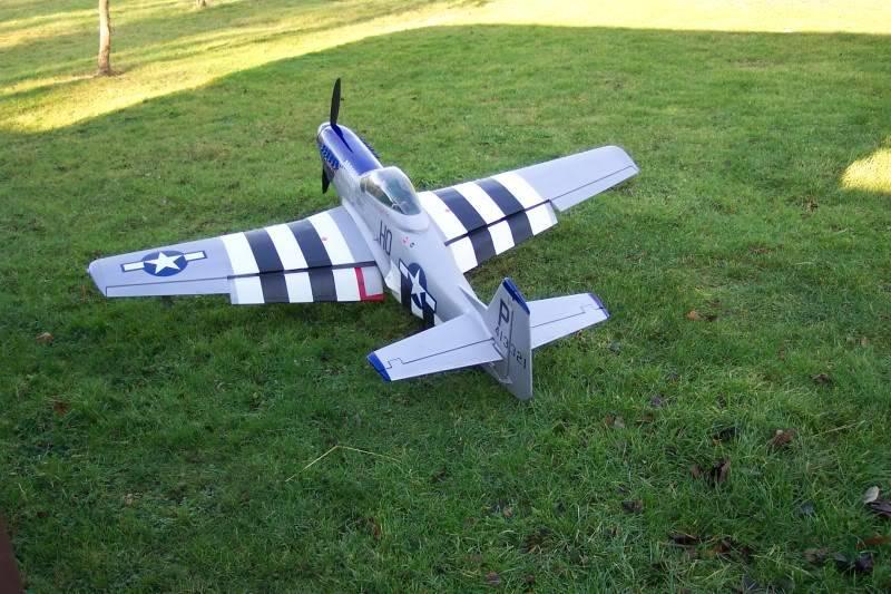 Skyleaders 1/5 Scale Mustang Build Musyflapsdown