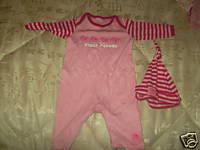 girls clothes Pinkrompersuit