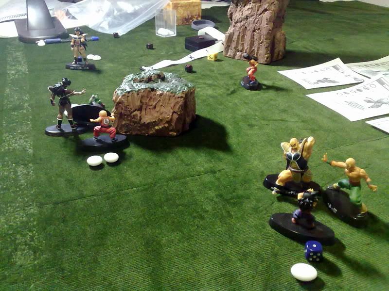 Dragon Ball Melee, juego de miniaturas 040820112383
