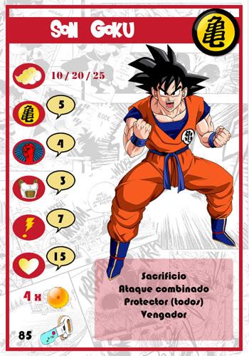 Dragon Ball Melee, juego de miniaturas Goku-chico