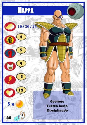 Dragon Ball Melee, juego de miniaturas Nappa-chico