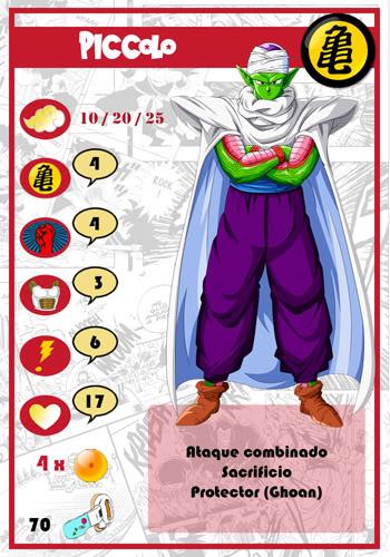 Dragon Ball Melee, juego de miniaturas Piccolo-chico-1
